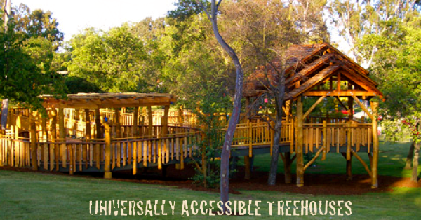 Tree house For Kids with Challenges